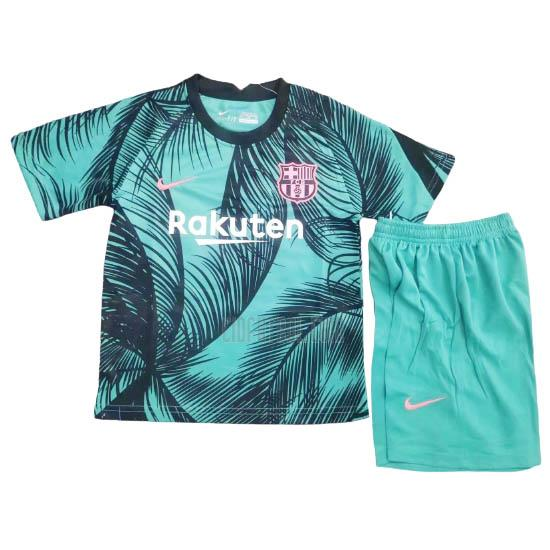 camiseta barcelona niños champions league pre-match 2020-2021