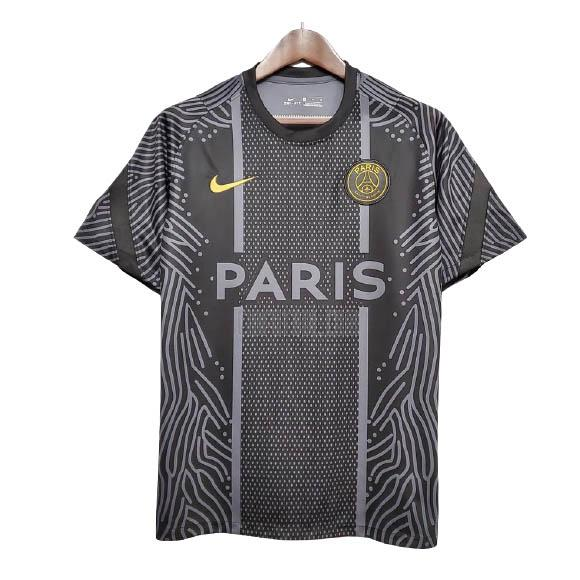 camiseta de entrenamiento paris saint-germain negro 2020-2021