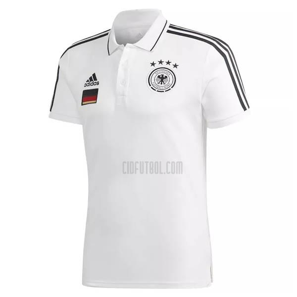 camiseta polo alemania blanco 2021