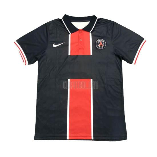 camiseta polo paris saint-germain azul marino 2020-2021