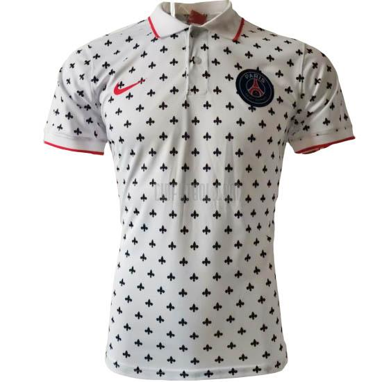 camiseta polo paris saint-germain f blanco 2020