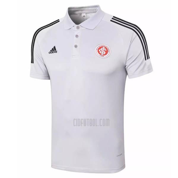camiseta polo sc internacional blanco 2020