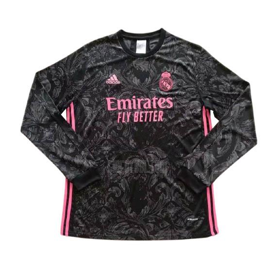 camiseta real madrid manga larga 3ª equipación 2020-2021